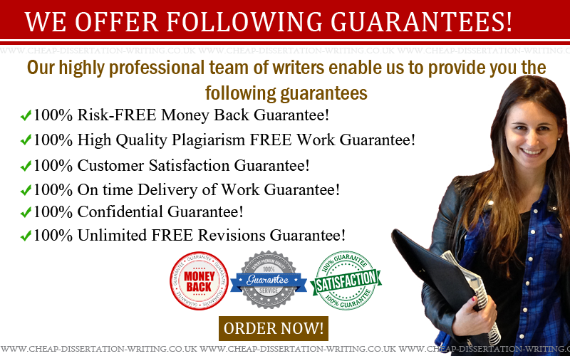 Guarantees of writing services - Guarantees